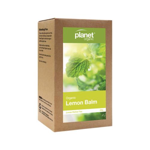 Lemon Balm Loose Leaf Tea Organic 20g - Planet Organic