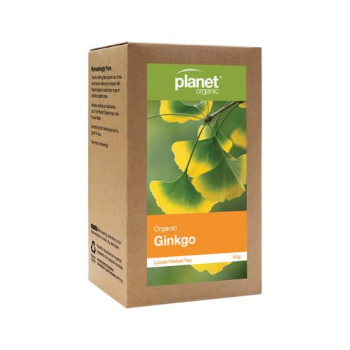 Ginkgo Loose Leaf Tea Organic 50g - Planet Organic