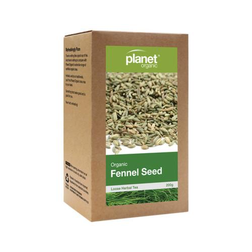 Fennel Seed Loose Leaf Tea Organic 200g - Planet Organic