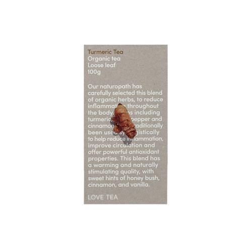 Turmeric Tea Loose Leaf Organic 100g - Love Tea