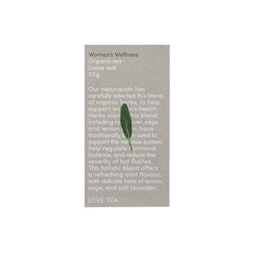 Women's Wellness Tea Loose Leaf Organic 50g - Love Tea