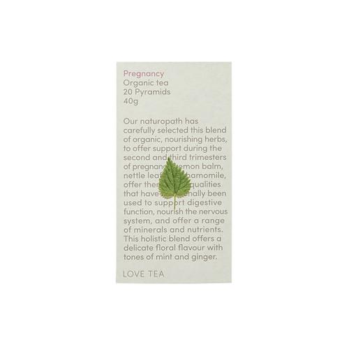 Pregnancy Tea 20 Pyramid Bags  Organic - Love Tea