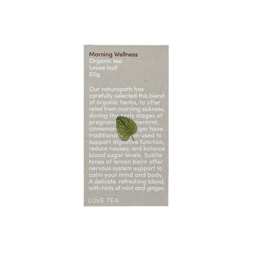 Morning Wellness Tea Loose Leaf Organic 50g - Love Tea