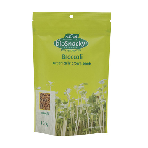 Broccoli Seeds Sprouting Organic 100g - A. Vogel BioSnacky