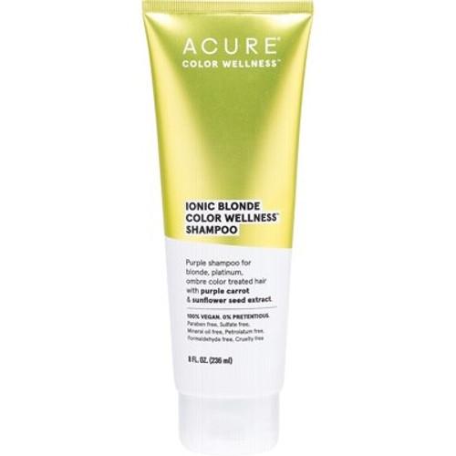 Ionic Blonde Colour Wellness Shampoo 236ml - Acure