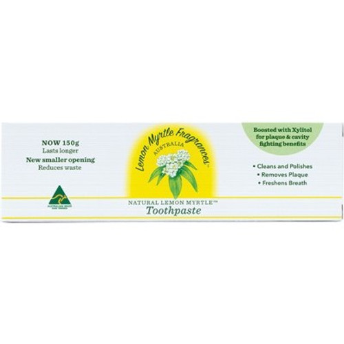 Toothpaste Fluoride Free 150g - Lemon Myrtle Fragrances