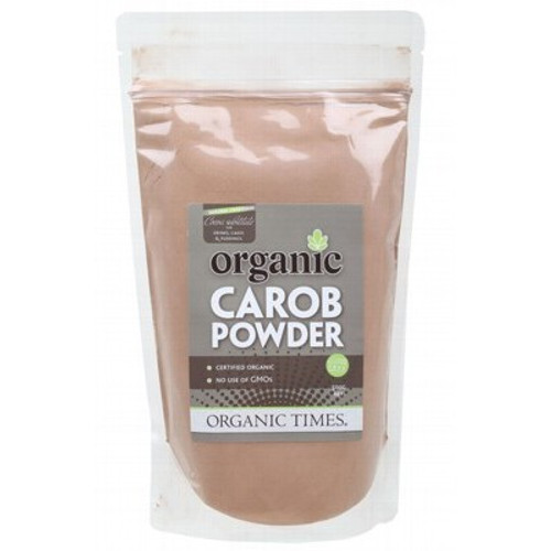Carob Powder Toasted Organic 500g - Organic Times