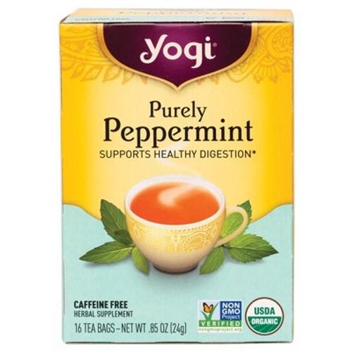 Purely Peppermint Tea 16 Bags - Yogi Tea