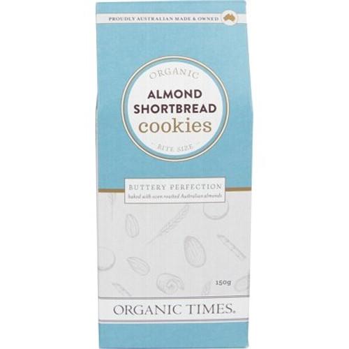 Almond Shortbread Cookies 70g - Organic Times