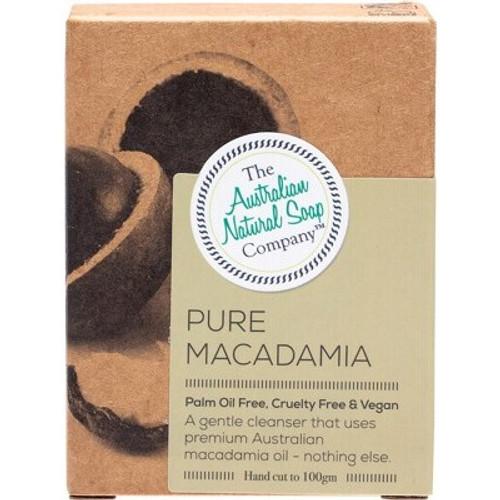 Pure Macadamia Face Soap Bar 100g - The Australian Natural Soap Company