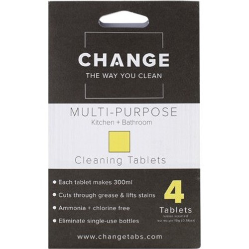 Cleaning Tablets Multi Purpose 4pack - Change