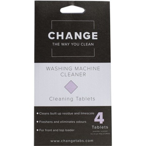 Cleaning Tablets Washing Machine 4pack - Change