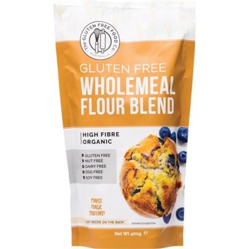 Wholemeal Flour Blend Mix Gluten Free Organic 400g - The Gluten Free Food Co