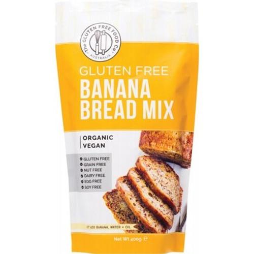 Banana Bread Mix Gluten Free Organic 400g - The Gluten Free Food Co