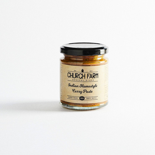 Curry Paste Homestyle Indian 180g - Church Farm