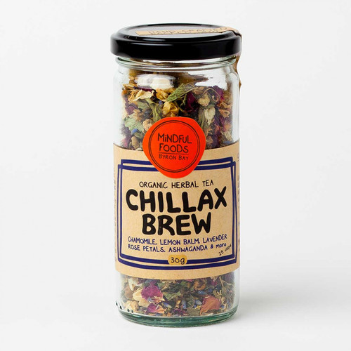 Chillax Brew Loose Leaf Tea Organic 30g - Mindful Foods