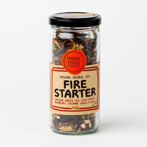 Fire Starter Tea Loose Leaf Tea Organic 40g - Mindful Foods