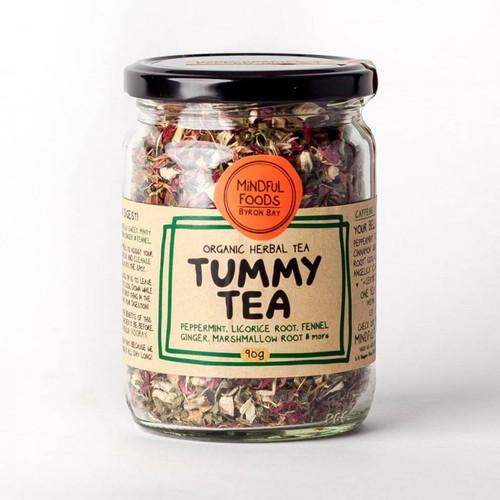 Tummy Tea Loose Leaf Tea Organic 90g - Mindful Foods