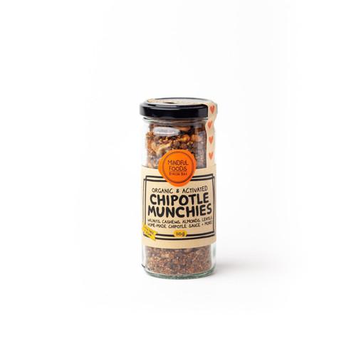 ChipotleMunchies Activated Raw Organic 110g Jar - Mindful Foods