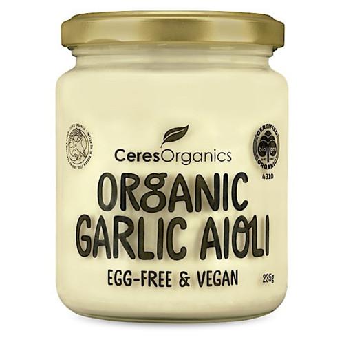 Garlic Aioli (Vegan) Organic 235g - Ceres Organics