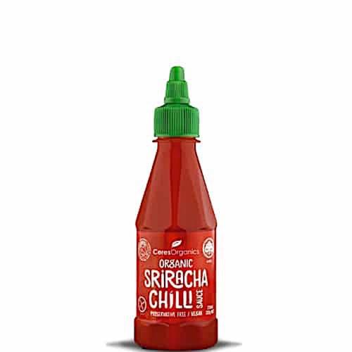 Sriracha Chilli Sauce Organic 250ml - Ceres Organics