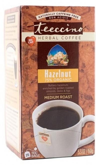 Herbal Coffee/Tea Hazelnut 25 Bags (Big Box) - Teeccino