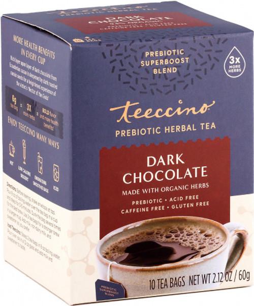 Herbal Coffee/Tea Dark Chocolate Prebiotic 10 Bags - Teeccino