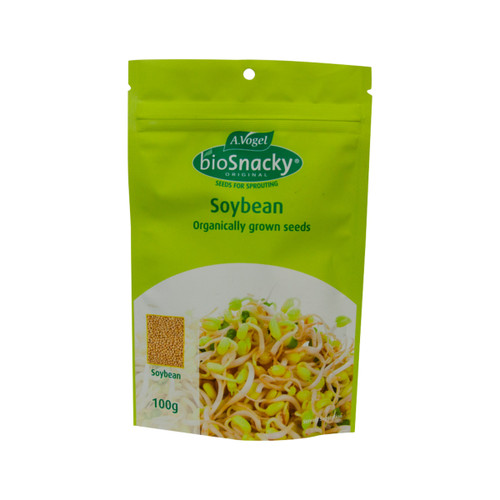 Soybean Seeds Sprouting Organic 100g - A. Vogel BioSnacky