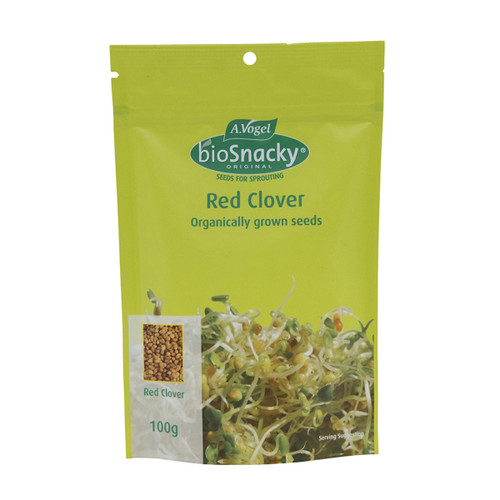 Red Clover Seeds Sprouting Organic 100g - A. Vogel BioSnacky