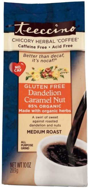 Herbal Coffee/Tea Dandelion Caramel Nut 283g Bag - Teeccino