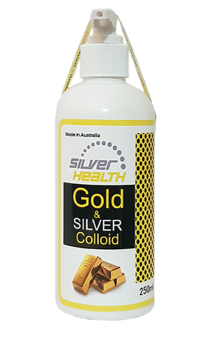 Gold and Silver Colloid 250ml - Silver Health