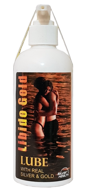 Lubricant with Gold and Silver Colloid 200ml - Silver Health