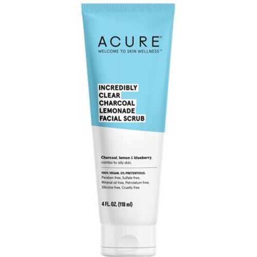 Facial Scrub Incredibly clear Charcoal 118ml - Acure