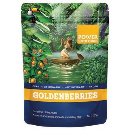 Goldenberries Dried Organic 125g - Power Superfoods