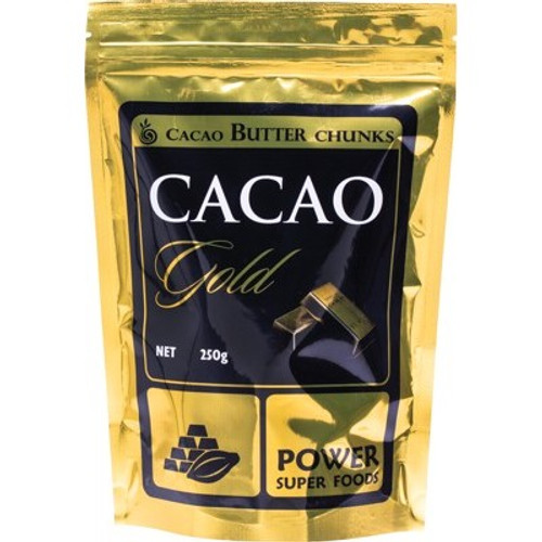 Cacao Butter Chunks Cacao Gold Organic 250g - Power Super Foods