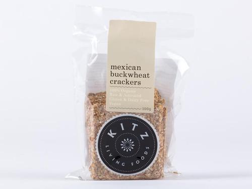 Mexican Buckwheat Crackers Organic 100g - Kitz