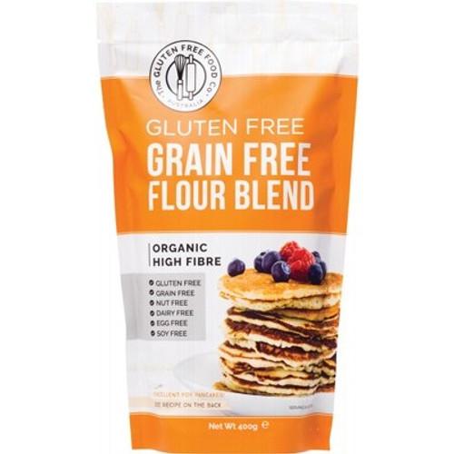 Grain Free Flour Blend Mix Gluten Free Organic 400g - The Gluten Free Food Co