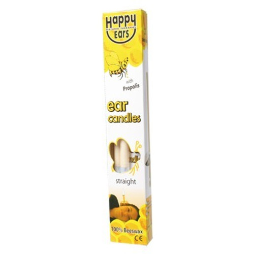 Ear Candles 2pack 100% Beeswax Straight - Happy Ears