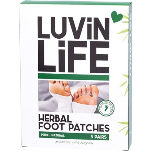 Foot Patches Herbal 5 Pairs - Luvin Life
