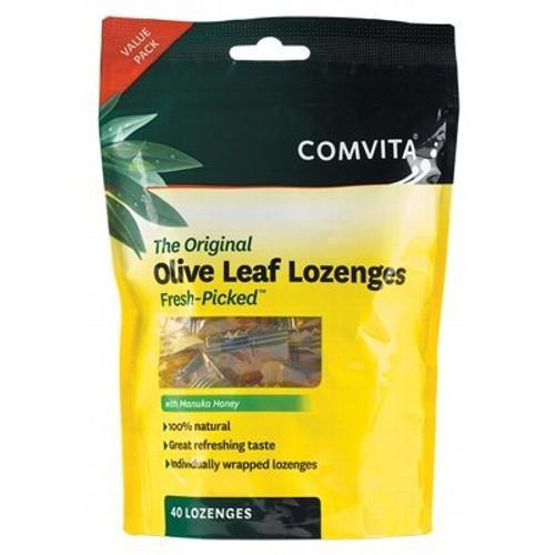 Olive Leaf Lozenges with Manuka Honey 40 - Comvita
