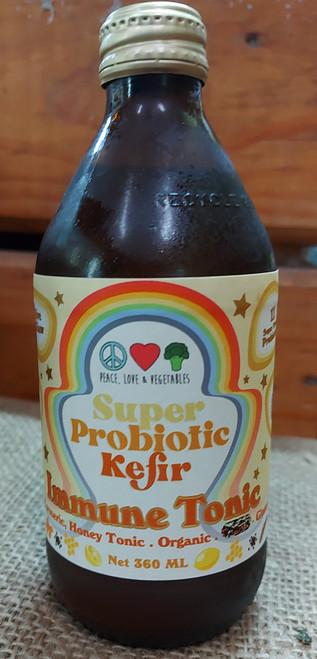 Kefir 11 Immune Super Probiotic Tonic Organic 360ml - Peace Love Veges