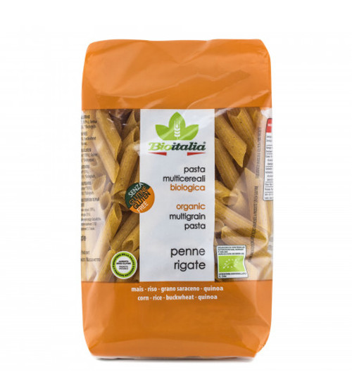 Pasta Penne Multigrain Gluten Free 340g -  Bioitalia