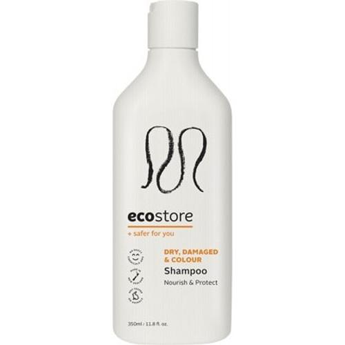 Shampoo Dry, Damaged & Coloured hair 350ml - Ecostore