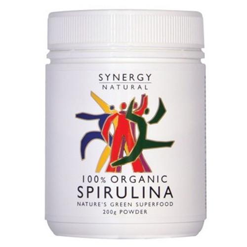 Spirulina Powder Organic 200g - Synergy Organic
