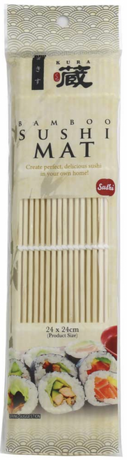 Sushi Bamboo Rolling Mat - Chefs Choice