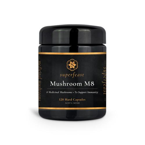 Mushroom M8 120 Capsules - Superfeast