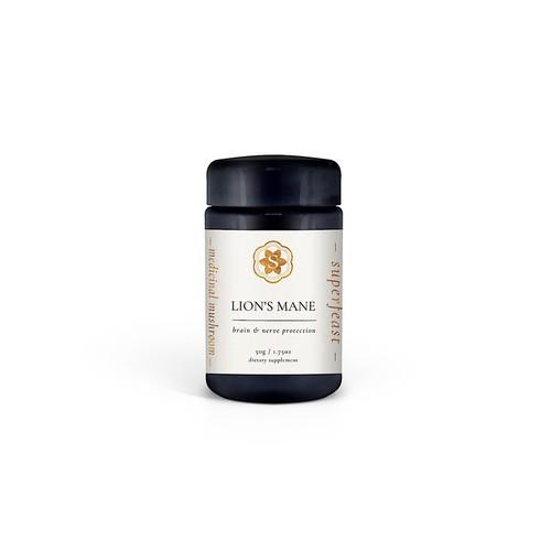 Lion's Mane Extract 50g Jar - Superfeast