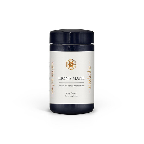 Lion's Mane Extract 100g Jar - Superfeast