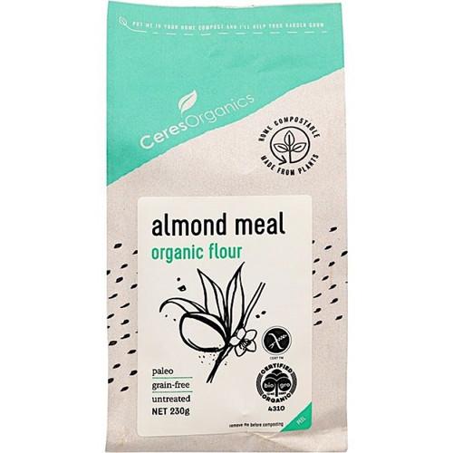Almond Meal Organic 230g - Ceres Organics