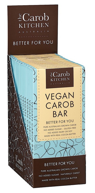 Carob Bar Original Vegan 80g - The Carob Kitchen